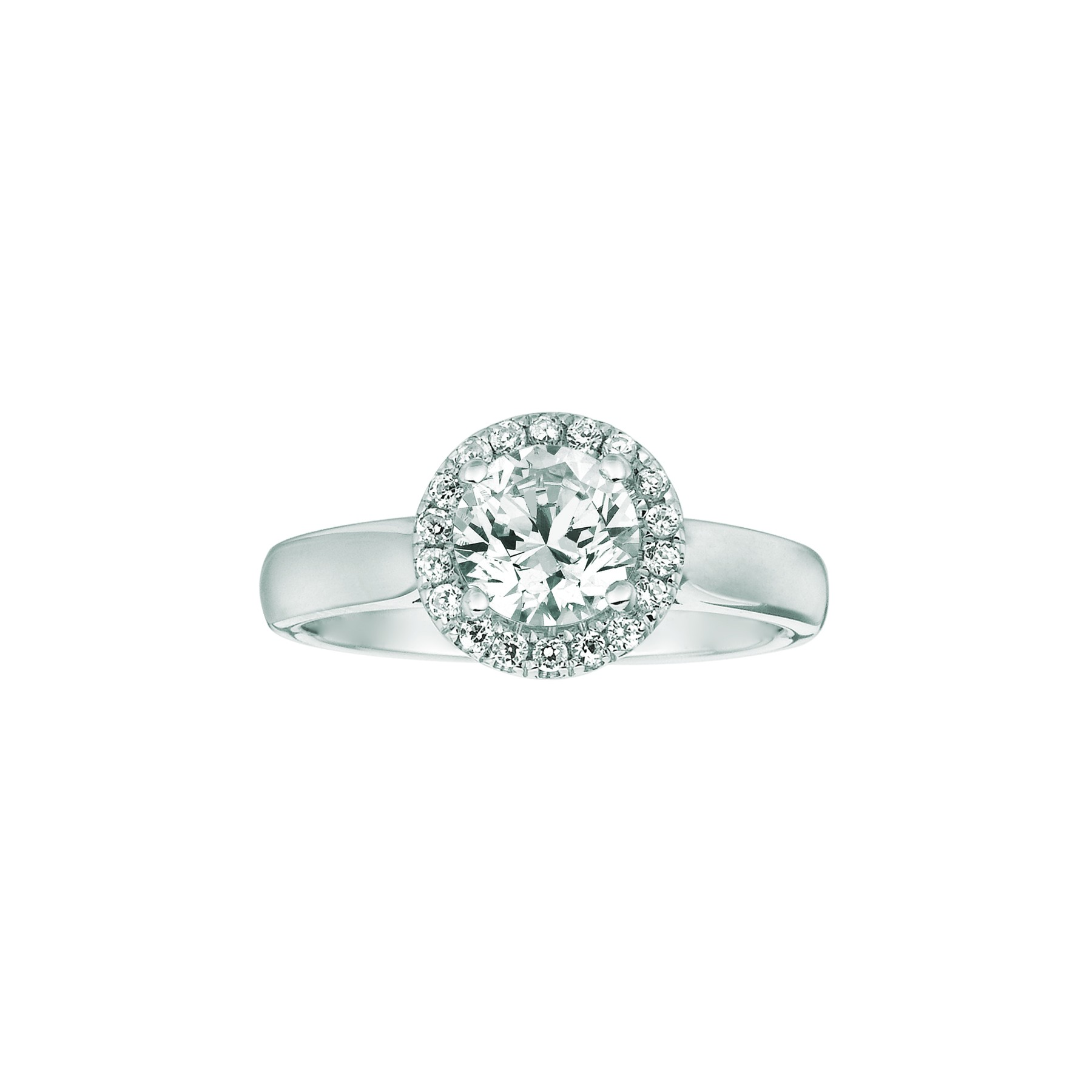 Mervis Bridal Solitaire Platinum Hand Engraved Engagement Ring
