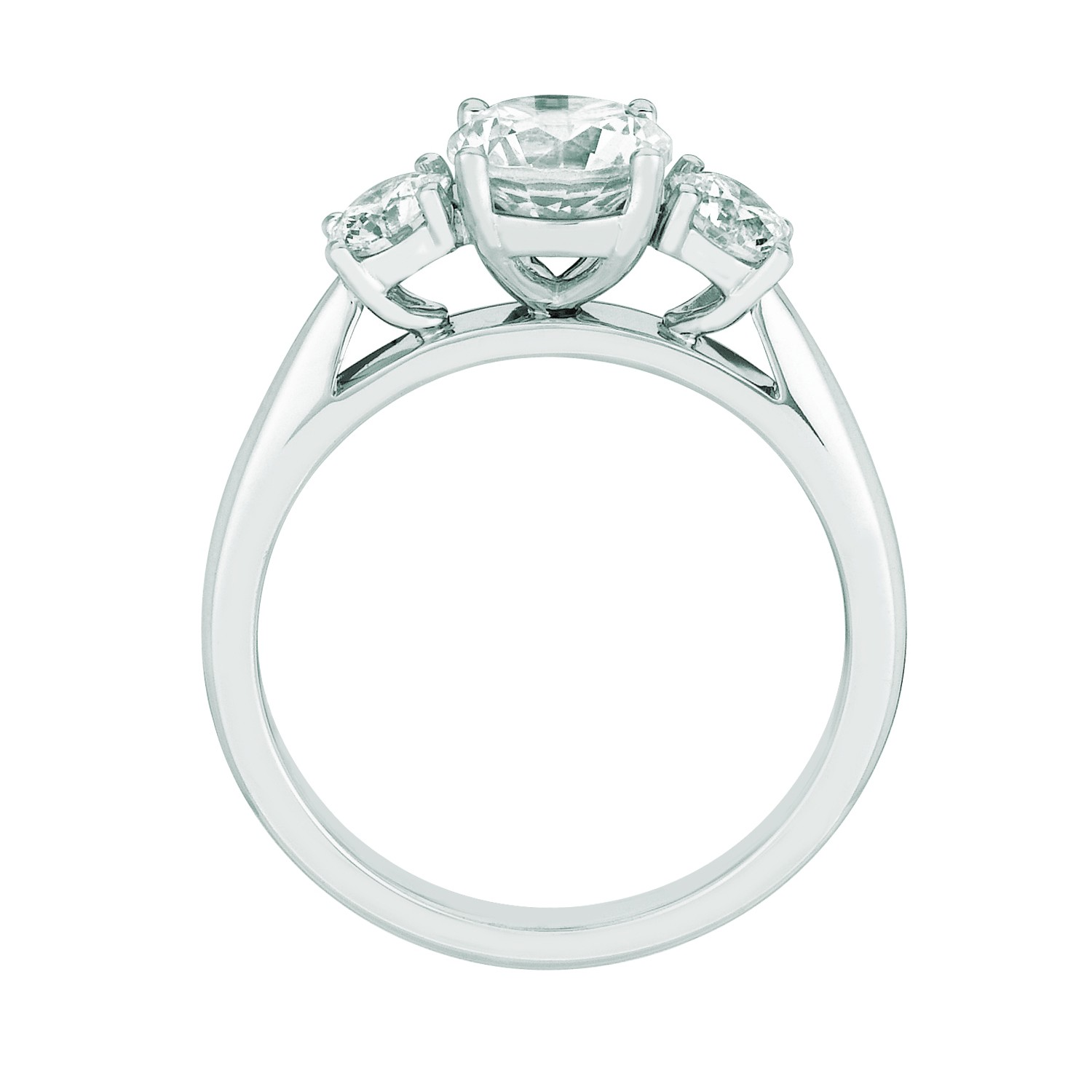 the gallery for gt verragio engagement rings on finger