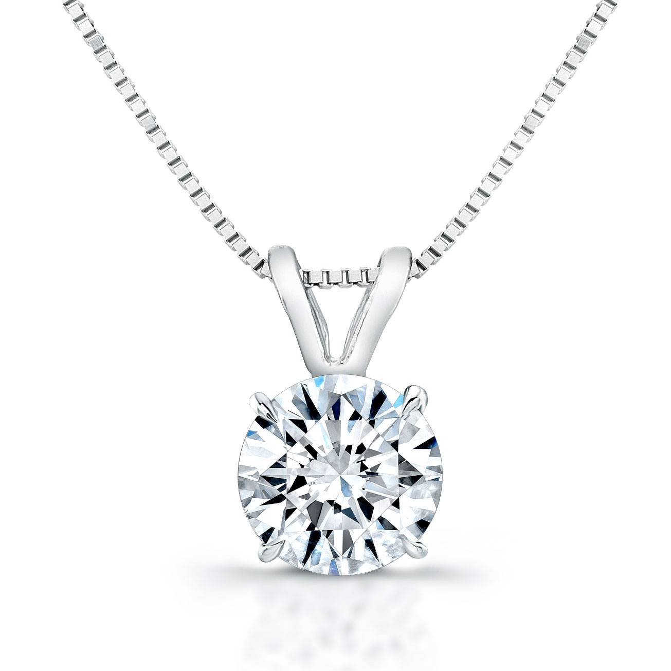 Diamond Pendant - J/VS2/1.01