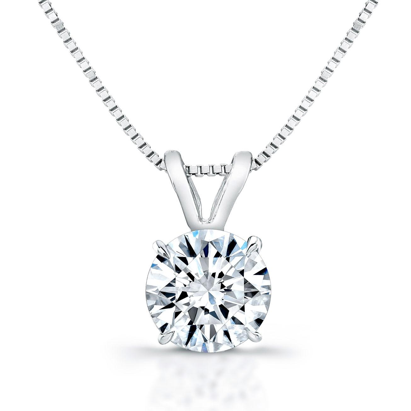 Diamond Pendant - G/SI1/1.01