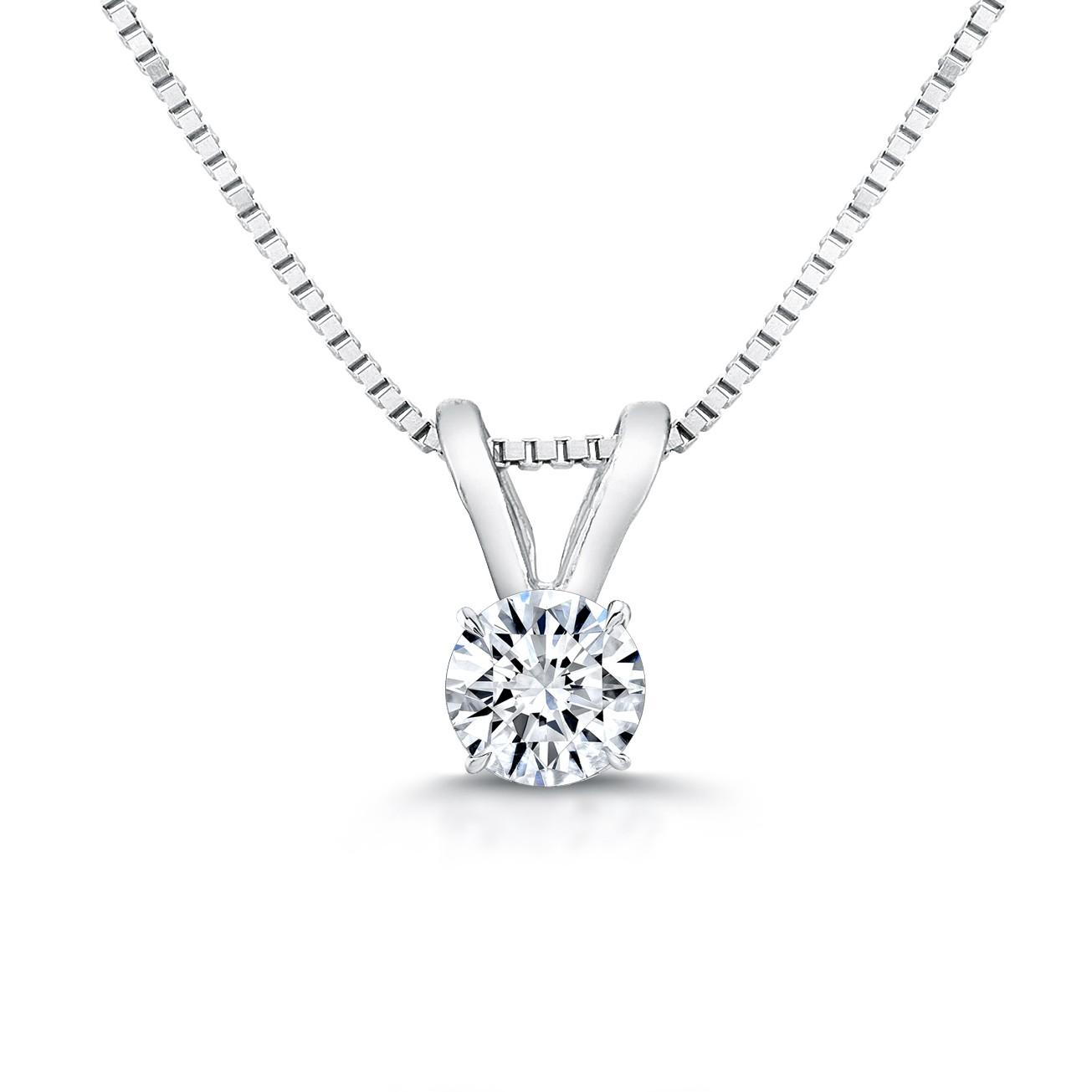 Diamond Pendant - G/SI3/0.40