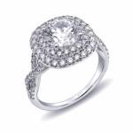 Coast Diamond Engagement Ring - LC10185