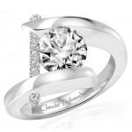 Claude Thibaudeau Pure Perfection Platinum Ring PLT-165-MP