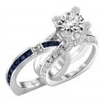 Claude Thibaudeau La Royale Platinum Sidestone Ring MODPLT-1736