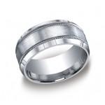 Designs Argentium Silver 10mm Band