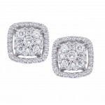 .70 Carat Diamond Earrings