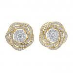 Memoire Diamond Bouquet Flower Earrings
