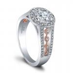 Jeff Cooper Halle Rose Engagement Ring