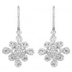 Fashion 2.15 Carat Diamond Earrings