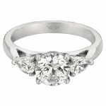 Martin Flyer FlyerFit Engagement Ring CT03SPSQ-C-6.5RD