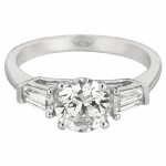 Martin Flyer FlyerFit Engagement Ring CT03STBQ-C-7.0RD