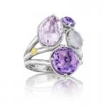Tacori Lilac Blossoms Precious Cluster Ring