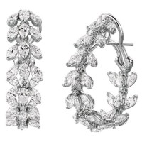 Martin Flyer Entice Collection Hoop Earring H04417