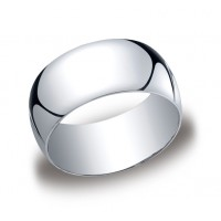 Classic White Gold 10mm Band