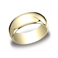 Classic Yellow Gold 8mm Band