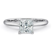 Precision Set New Aire Solitaire Engagement Ring