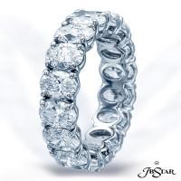 JB Star/Jewels By Star Single-Row Eternity Band