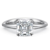 Precision Set Silk Solitaire Engagement Ring