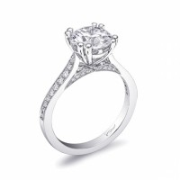 Coast Diamond Semi-Mount Ring LC10041