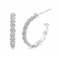 Coast Diamond Diamond Hoop Earrings - EC10001