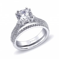 Coast Diamond Ring LC10073 | Band WC10073