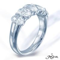 JB Star/Jewels By Star Single-Row Diamond Band
