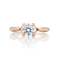 Tacori Pretty in Pink Collection Classic Crescent Ring 2645RD6512PK