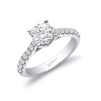 Coast Diamond Semi-Mount Ring LC5355 LC5355