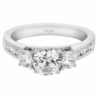 Martin Flyer FlyerFit Engagement Ring 5138FFSERQ-C-6.5RD