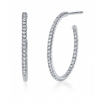 Coast Diamond Diamond Hoop Earrings - EC5134