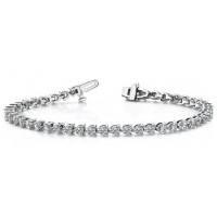 2.70 Carat Diamond Tennis Bracelet
