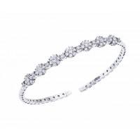 1.65 Carat Diamond Bangle