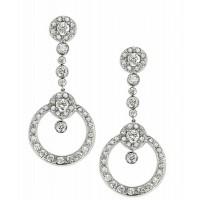 Diamond Partridge Earrings
