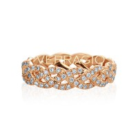 Verragio Eterna Collection Diamond Eternity Band WED-4023-GOLD