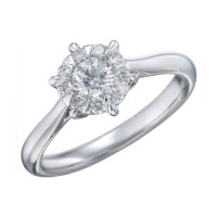 Memoire Six Prong Diamond Ring MBQ14ER-0050TW