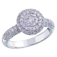 Memoire Pave Diamond Bouquet Ring MBQ16ER-0085TW