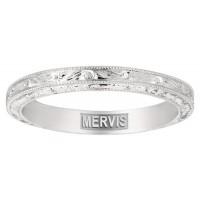 Mervis Bridal solitaire Platinum Engagement Ring