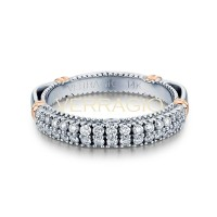 Verragio Parisian Collection 14k Gold Wedding Ring D-115W-GOLD