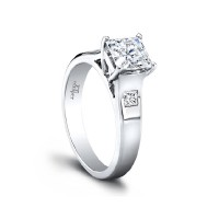 Jeff Cooper Cerise Engagement Ring