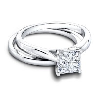 Jeff Cooper Tess Princess Engagement Ring