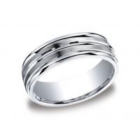 Designs Argentium Silver 7mm Band