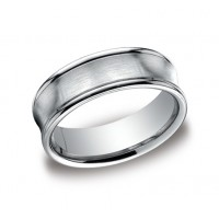 Designs White Gold 7.5mm Band