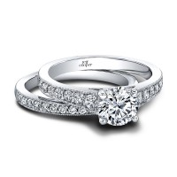 Jeff Cooper Honey Engagement Ring