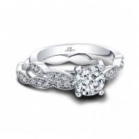 Jeff Cooper Livia Engagement Ring