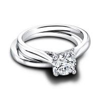 Jeff Cooper Greta--Tess Engagement Ring