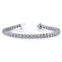 7.6 Carat Diamond Tennis Bracelet