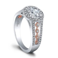 Jeff Cooper Halle Rose Engagement Ring