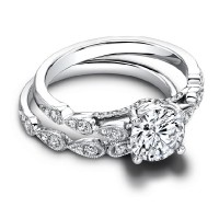 Jeff Cooper Lily Engagement Ring