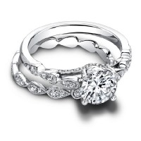 Jeff Cooper Lily Eternity Engagement Ring