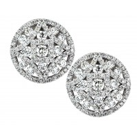 2.16 Carat Diamond Earrings